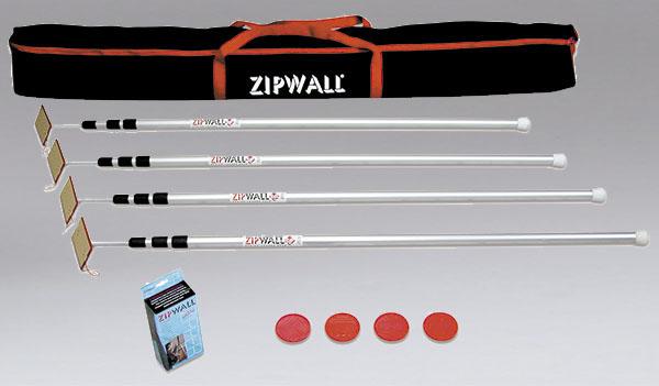 862545 Zipwall 4 Pack